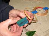 Applying Copper Foil
