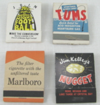 Size 20 Matches Per Book
