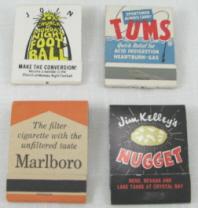 Size 20 Matches Per Book