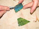 Rub Down The Foil Edges